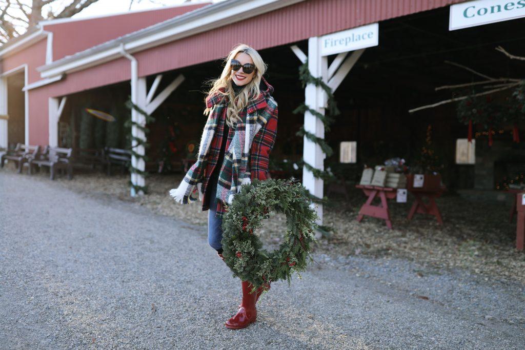 fashion-scarf-zara-blogger-tree-christmas