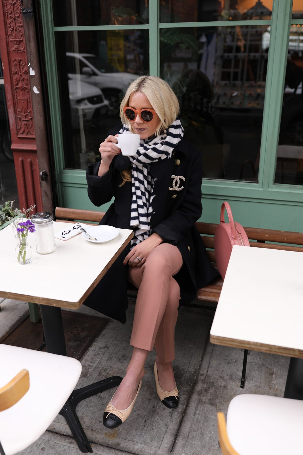 atlantic-pacific-blog-blair-nyc-cafe-pastel-mint-pink-blush-outfit