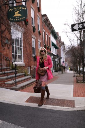 atlantic-pacific-nyc-blogger-michele-timepiece-plaid-skirt