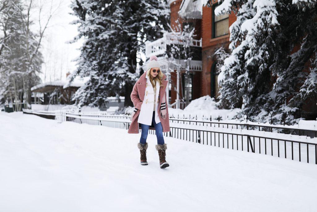 blair-eadie-ap-blog-blogger-fashion-outfit-winter-ideas-check-scarf-burberry-pink-blush-polo