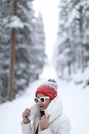 blair-eadie-atlantic-pacific-blogger-celine-sunglases-winter-fair-isle-pom-hat