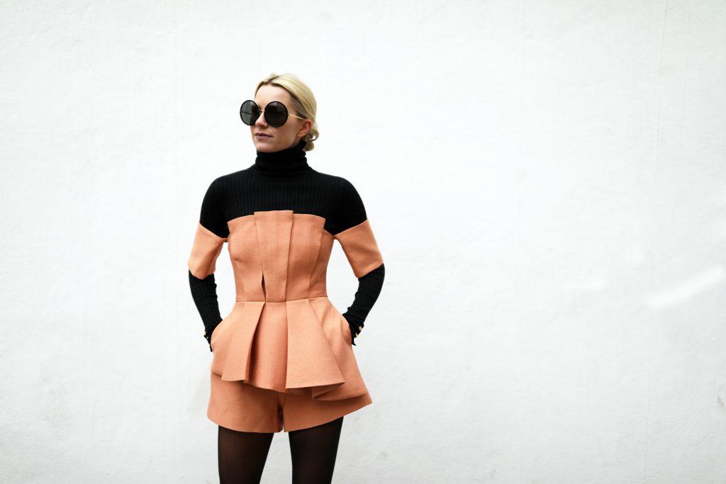 blair-eadie-atlantic-pacific-peach-black-holiday-layering-outfit