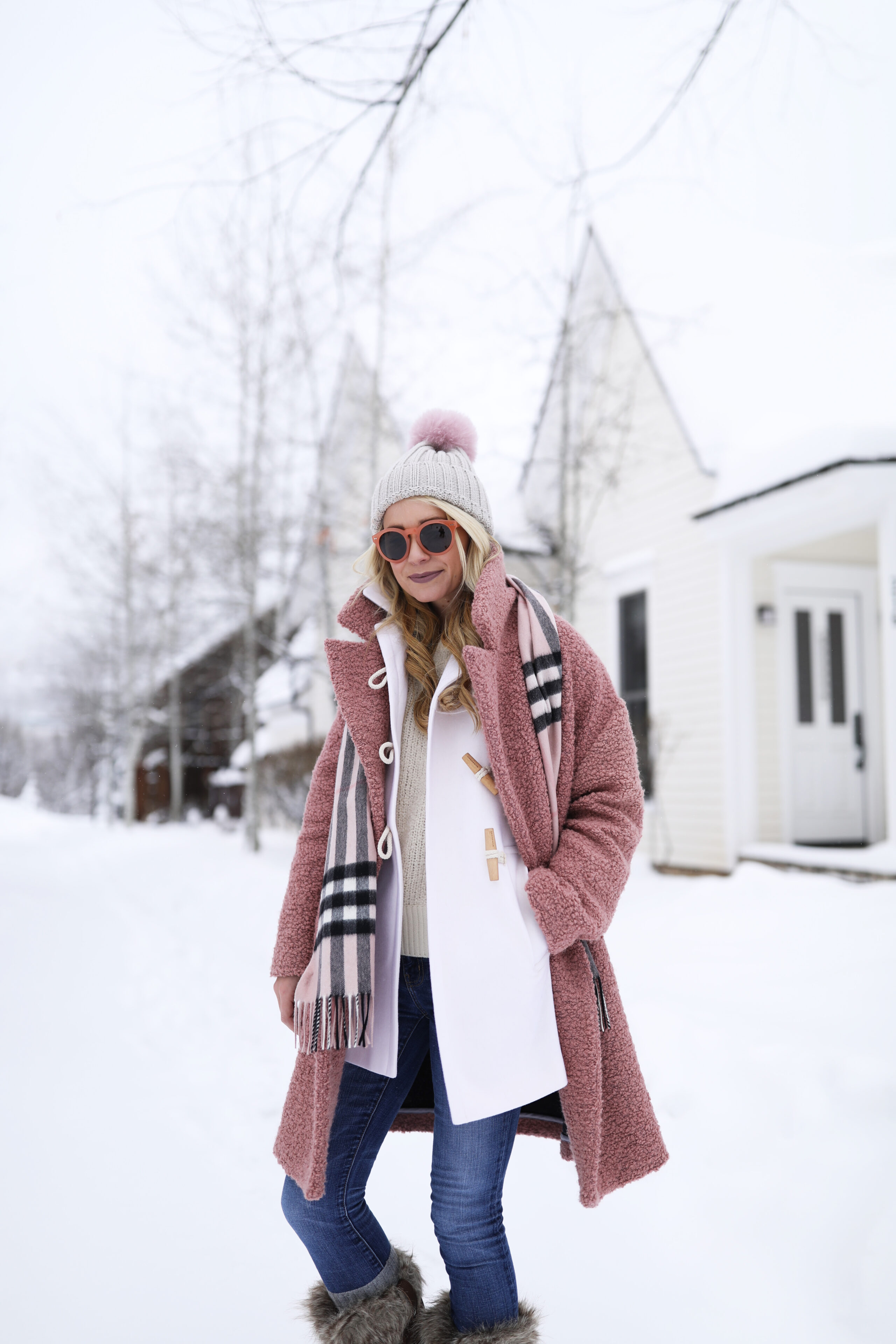 pink cream snow day atlantic pacific. Black Bedroom Furniture Sets. Home Design Ideas