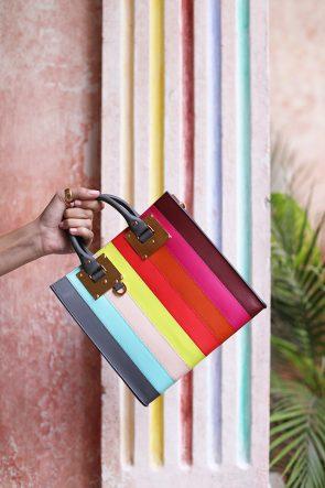 blair-eadie-atlantic-pacific-passion-cartagenga-rainbow-stripe-bag-sophie-hulme-blog