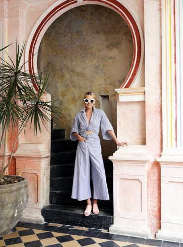 blair-eadie-atlantic-pacific-passion-cartagenga-rosie-assoulin-stripes-jumpsuit