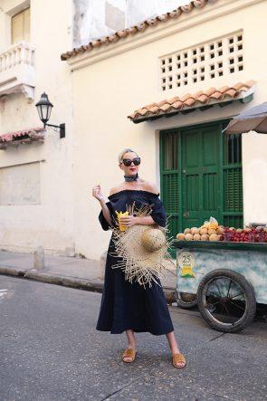 Off the Shoulder Dress Fashion Cartagena