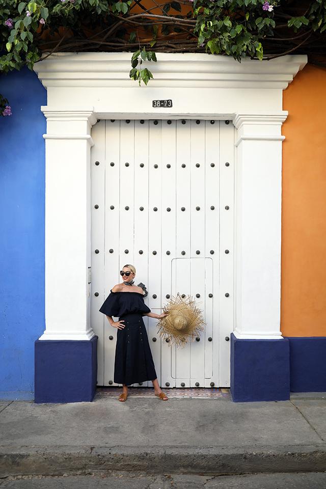 Colorful Cartagena Colombia Doors