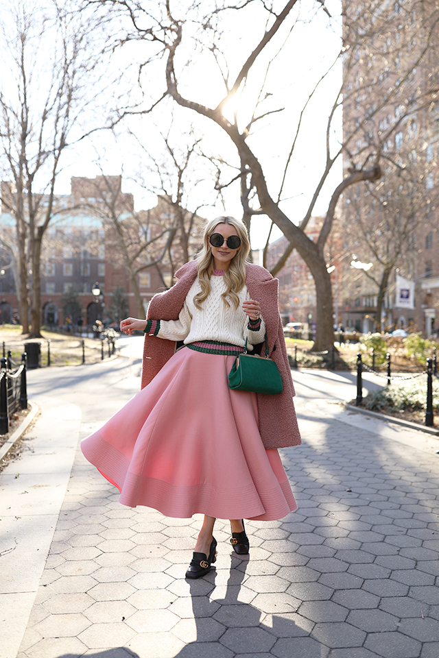 How Much Is Gucci Worth >> atlantic-pacific blog gucci shoes roksanda skirt pink green
