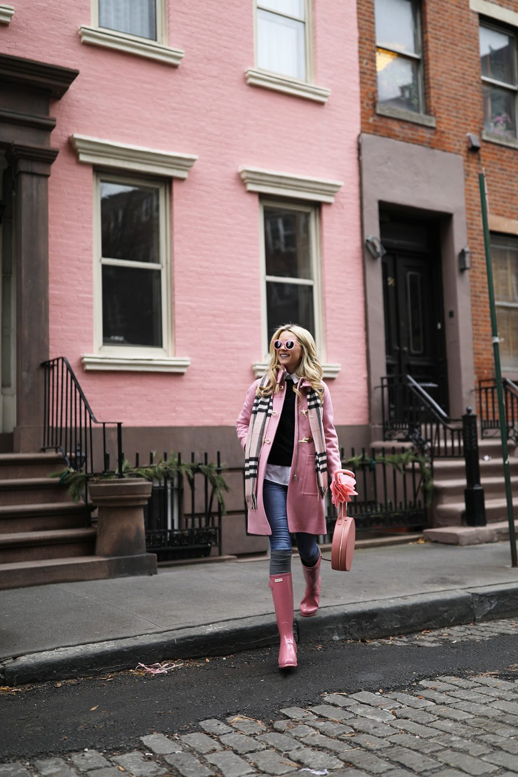blair-eadie-atlantic-pacific-pink-rain-hunter-plaid-scarf