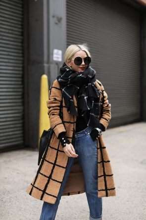 Atlantic-Pacific Blogger NYC Check Coat