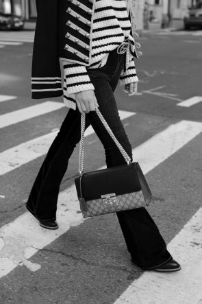 gucci-bag-nyc-street-style-flares-denim-off-the-shoulder
