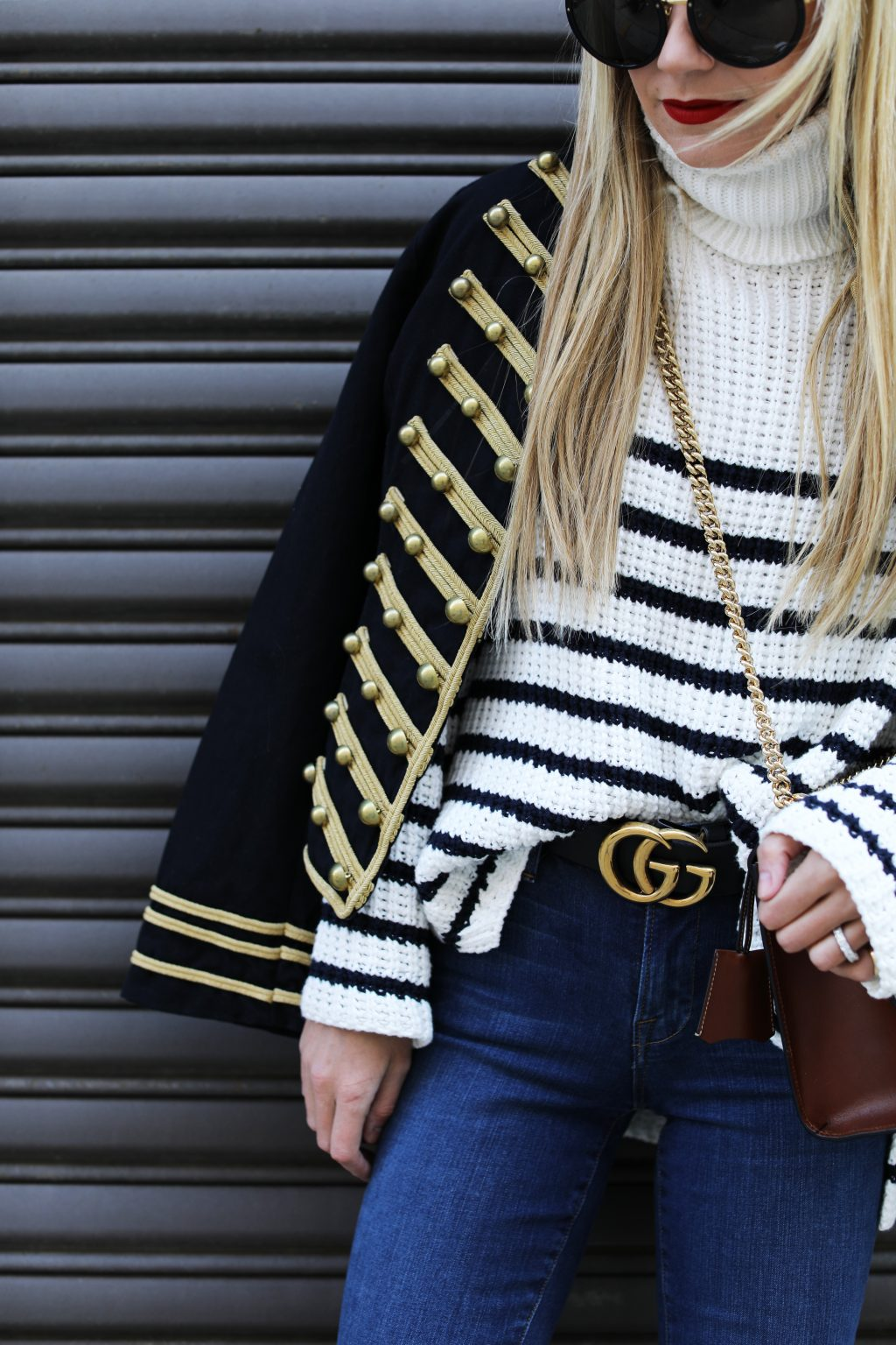 gucci-belt-gucci-bag-stripe-turtleneck-band-jacket-frame-denim-atlantic-pacific-blog