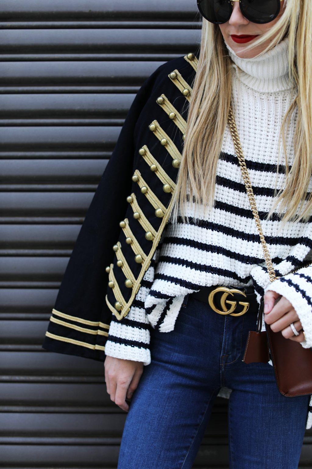 gucci-belt-gucci-bag-stripe-turtleneck-band-jacket-frame-denim-atlantic-pacific-blog