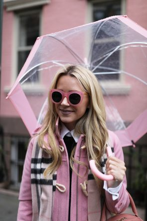 pink-sunglasses-blair-eadie-burberry-scarf-pink-umbrella