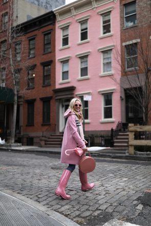 pink-wellies-hunter-west-village-fashion-blog