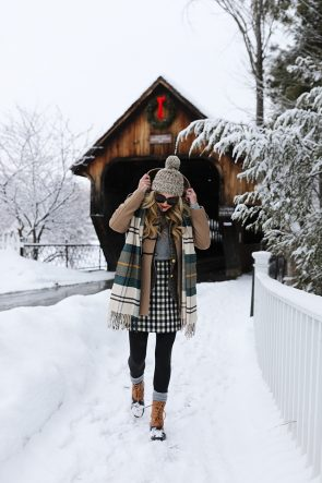 ATLANTIC-PACIFIC // Blair Eadie Snow Outfit Woodstock VT
