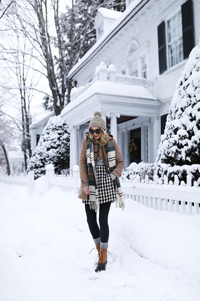 ATLANTIC-PACIFIC // Blair Eadie Snow Outfit Woodstock VT