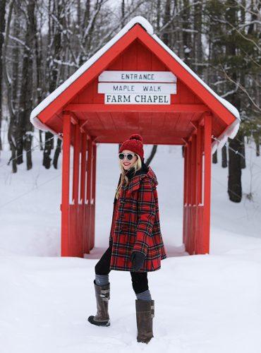 Atlantic Pacific Blog // Blair Eadie Winter Style Snow Outfit