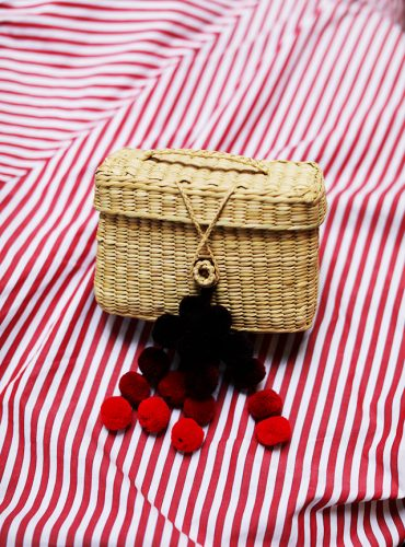 Atlantic Pacific // Straw and Basket Bags for Spring