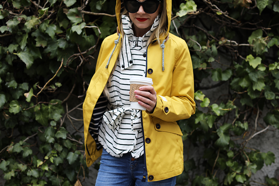Atlantic-Pacific // Blogger Rain Outfit
