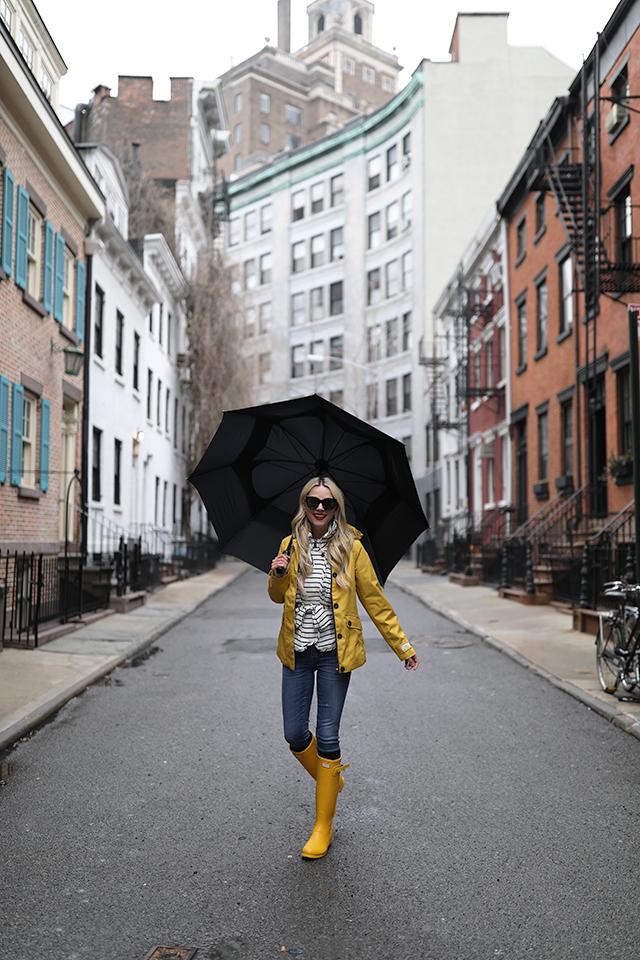 Atlantic-Pacific // Blogger Rain Outfit