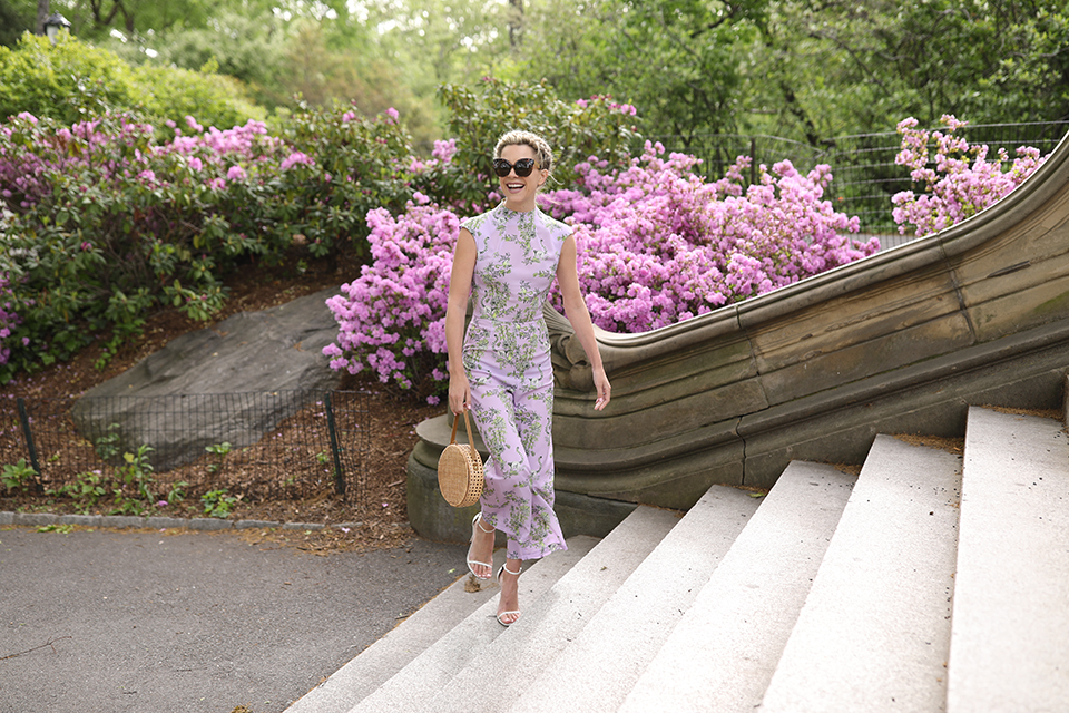 ATLANTIC PACIFIC // LILAC JUMPSUIT CENTRAL PARK