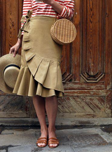 Atlantic Pacific // Ruffle Skirt
