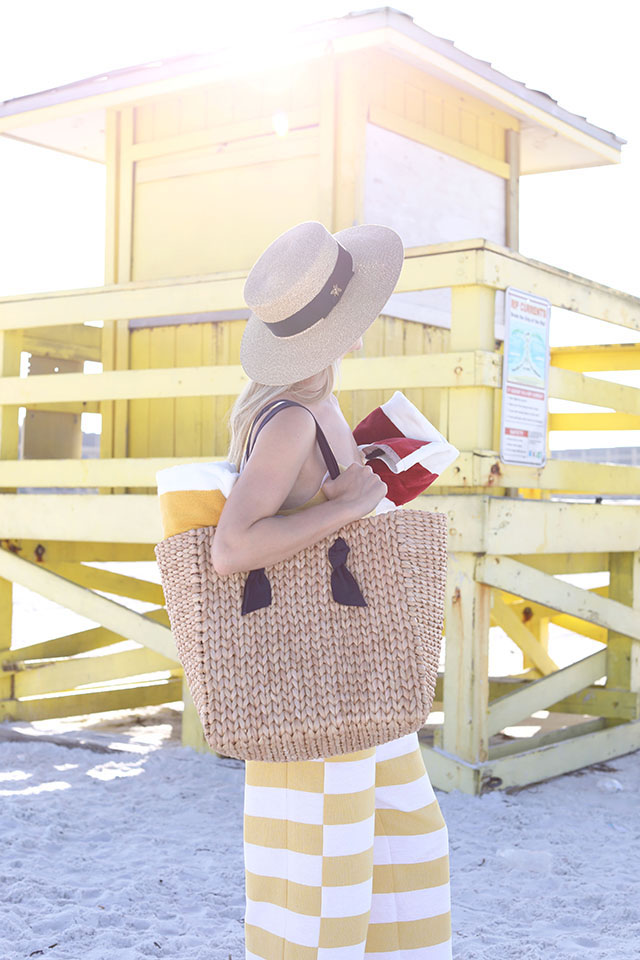 Pamela Munson Handbag // Straw Style