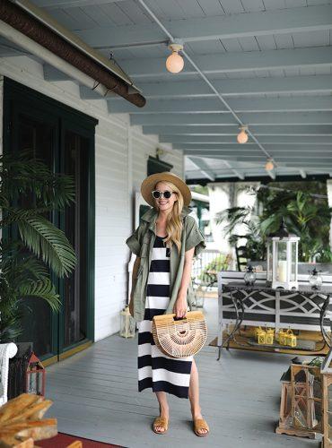 Atlantic Pacific // Stripe Dress