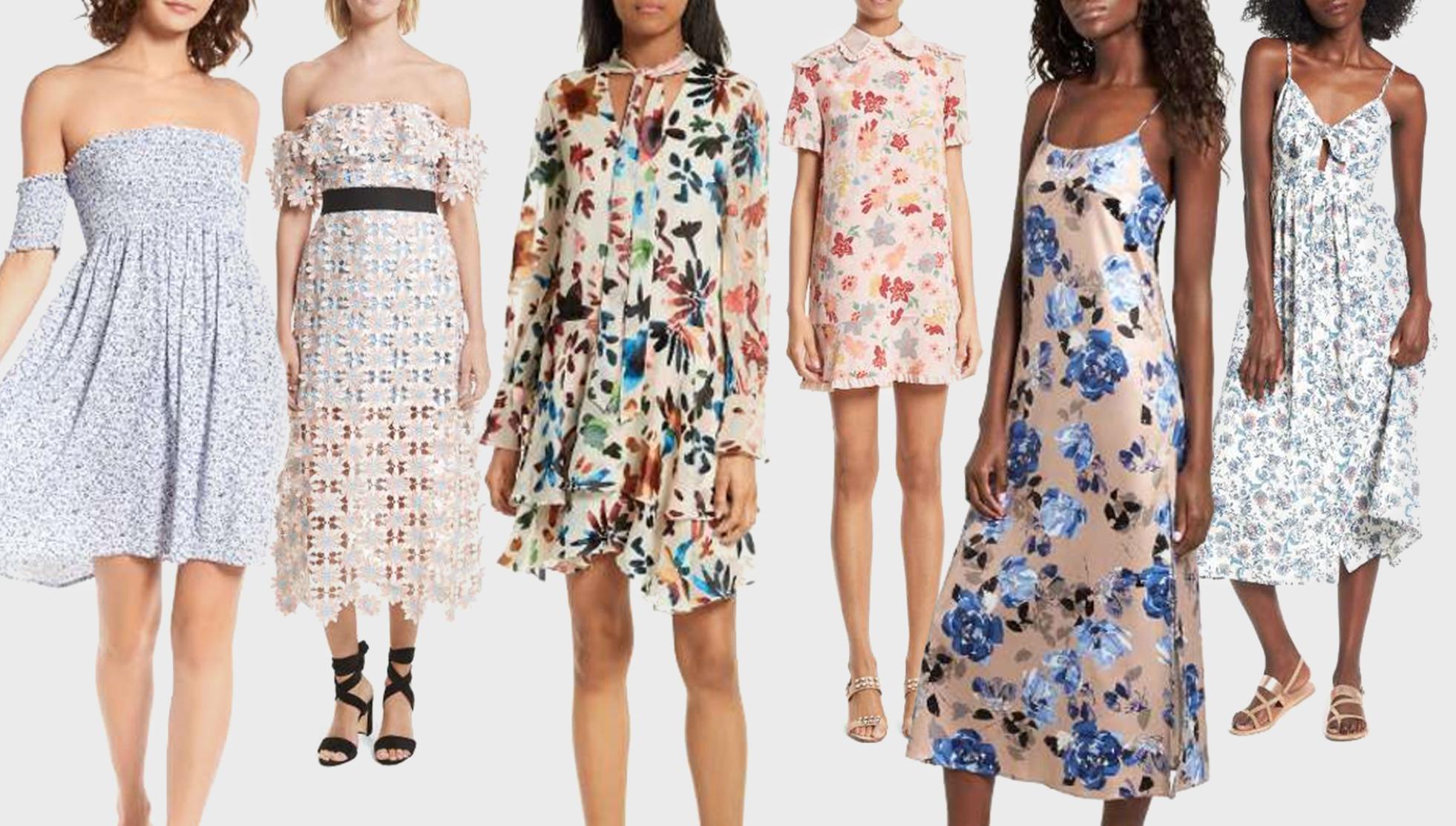 summer floral dress nordstrom
