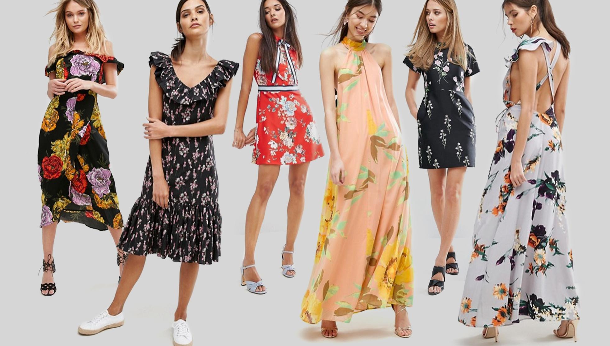 summer floral dress asos