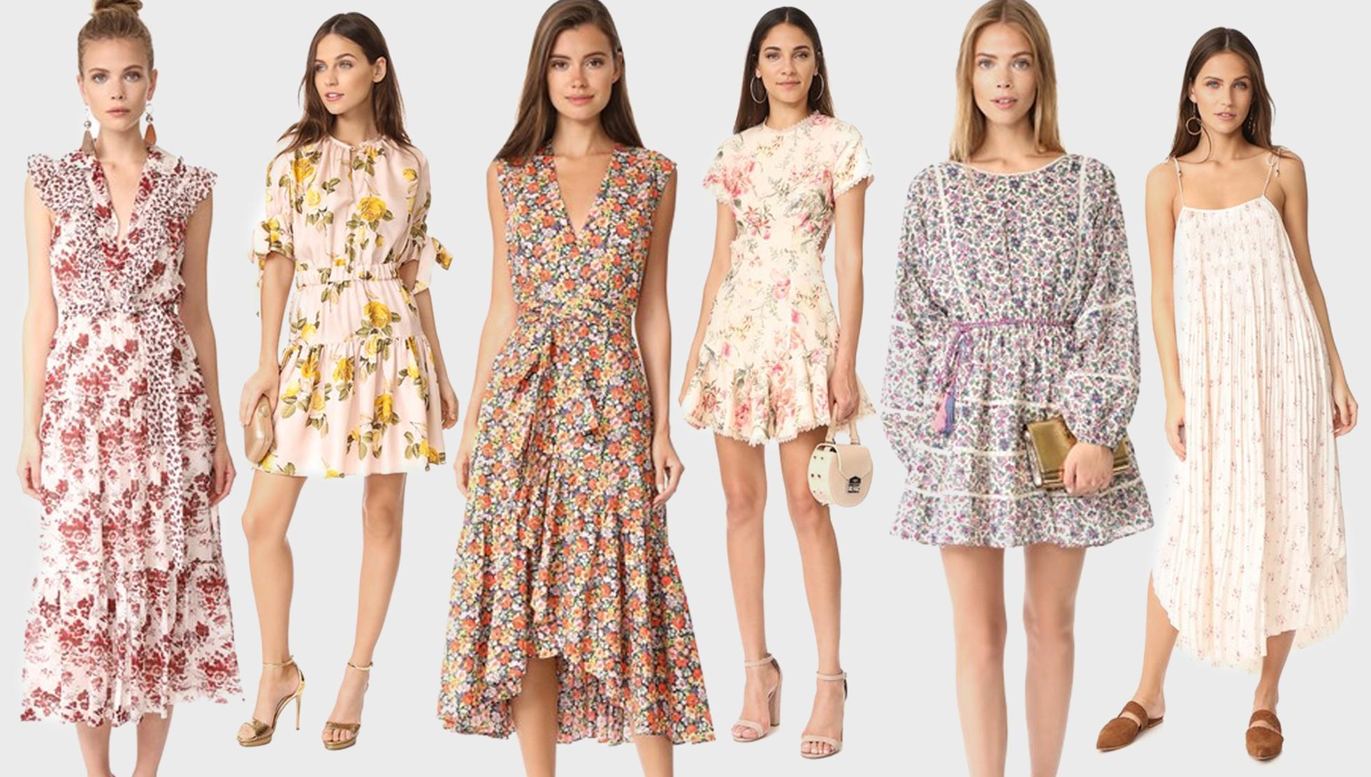 summer dress florals shopbop