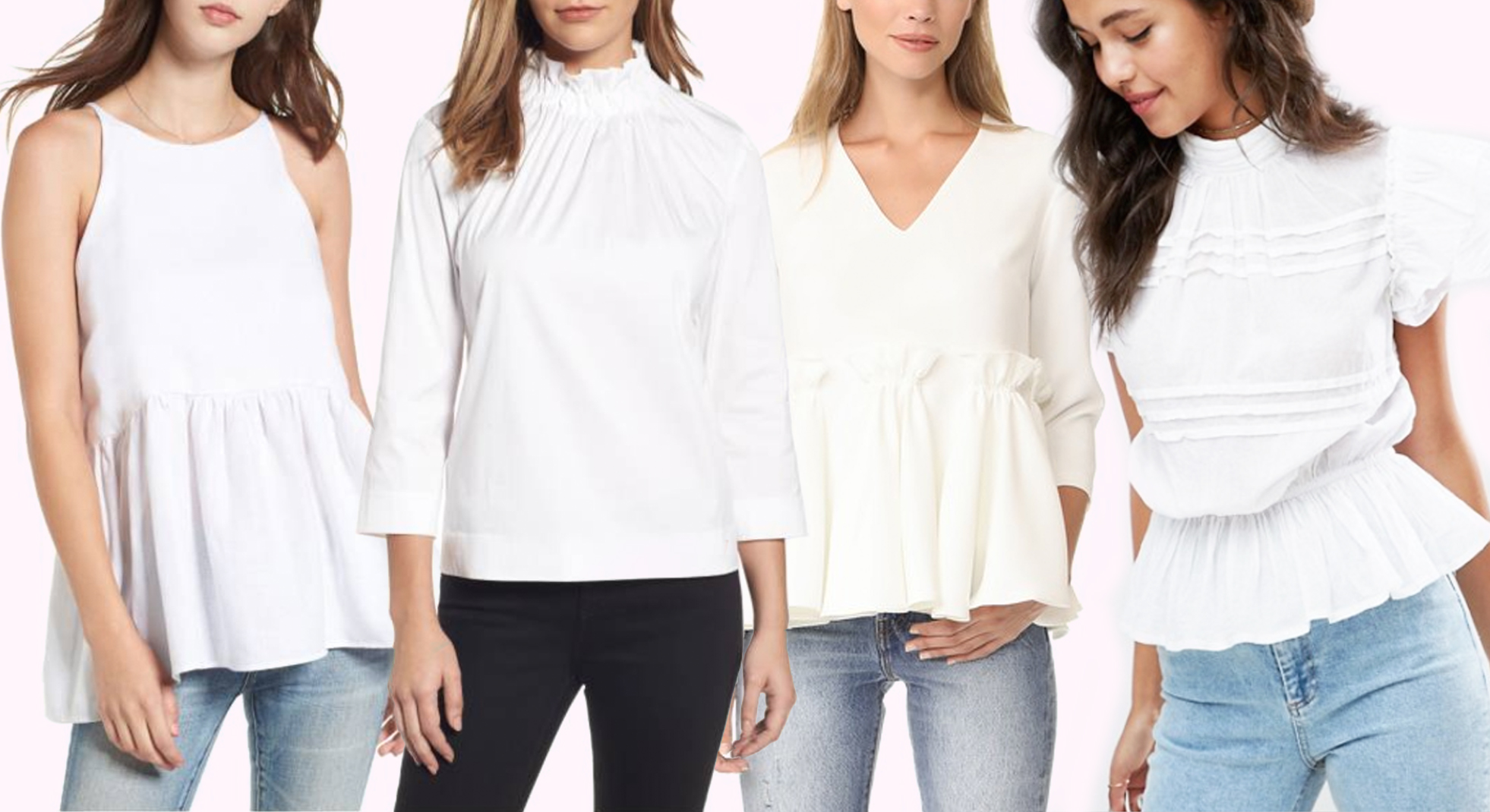 the perfect white summer top