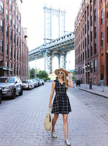 Atlantic Pacific // Plaid Dress