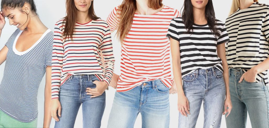 summer travel style casual striped tee atlantic pacific