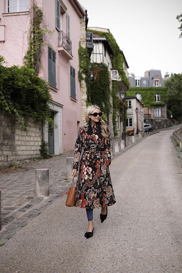 Atlantic Pacific Blog // Blair Eadie, Fall Florals in Paris