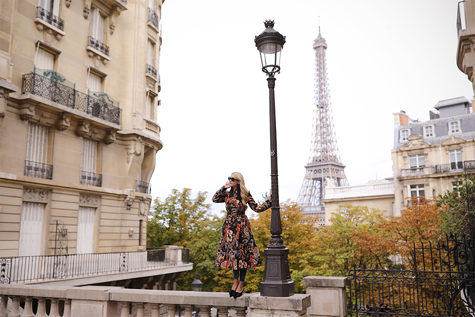 Atlantic Pacific Blog // Blair Eadie, Fall Florals in Paris