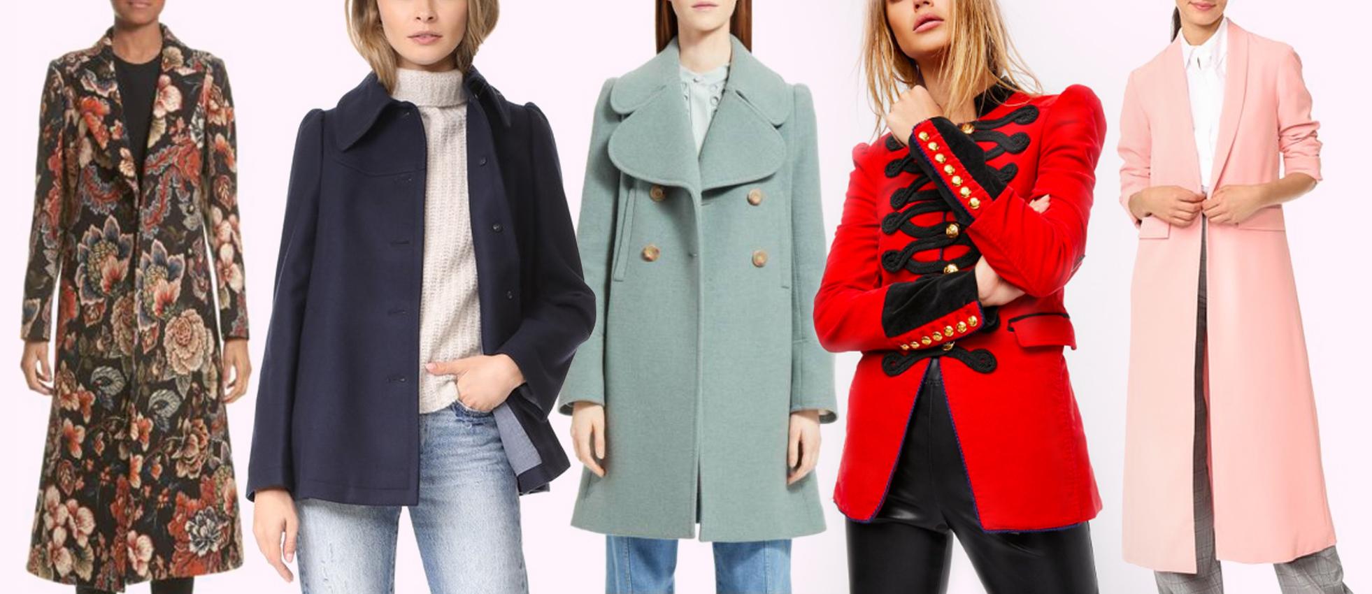 Fall forward coats