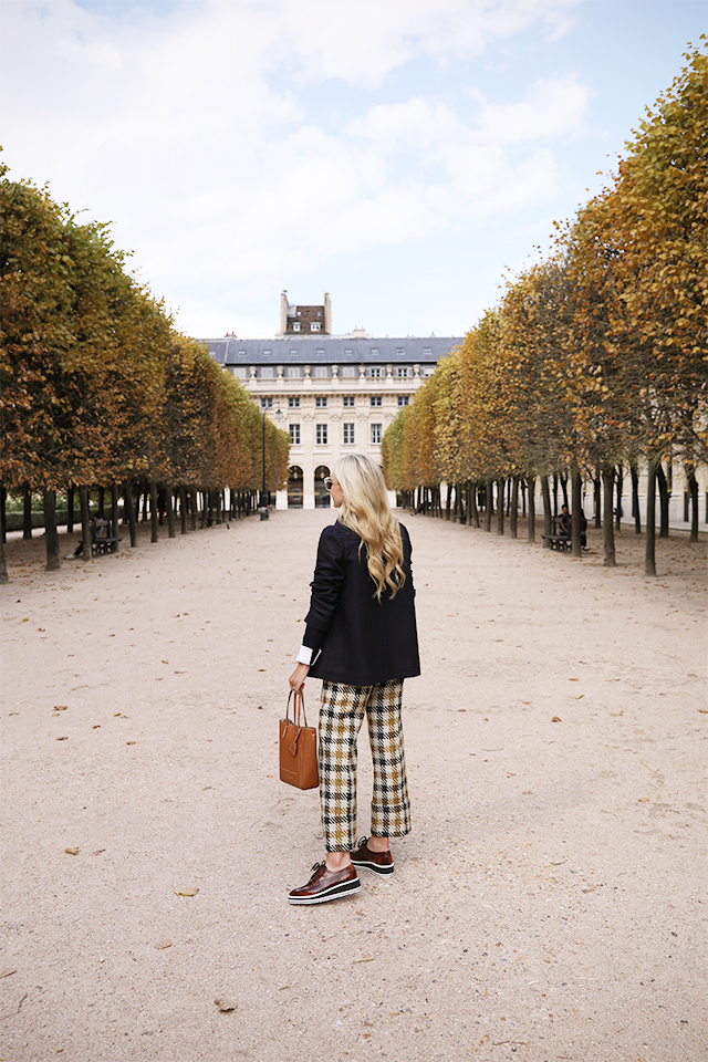 Atlantic Pacific Blog, Blair Eadie // Plaid in Paris