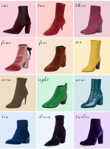 colored booties fall boot week blair eadie atlantic pacific