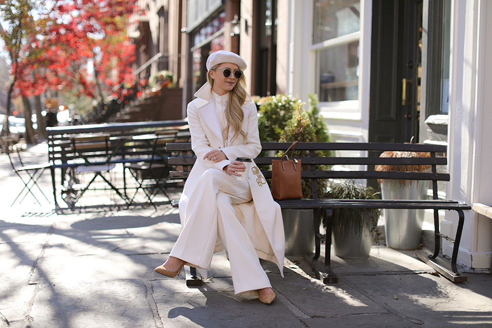 Atlantic Pacific // Winter White Outfit