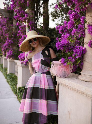lilac asos dress