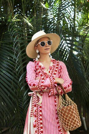 Blair Eadie Atlantic-Pacific Blog Red & Pink Resort Look
