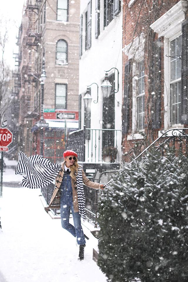 ATLANTIC PACIFIC BLAIR EADIE NYC SNOW OUTFIT WINTER
