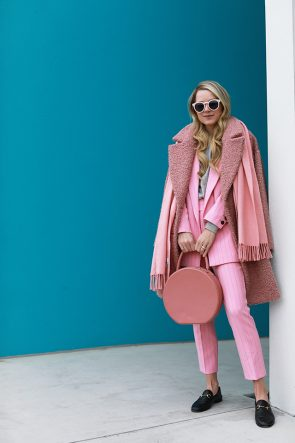 Atlantic Pacific Pink Suit