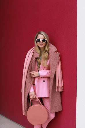 Atlantic Pacific Pink Suit