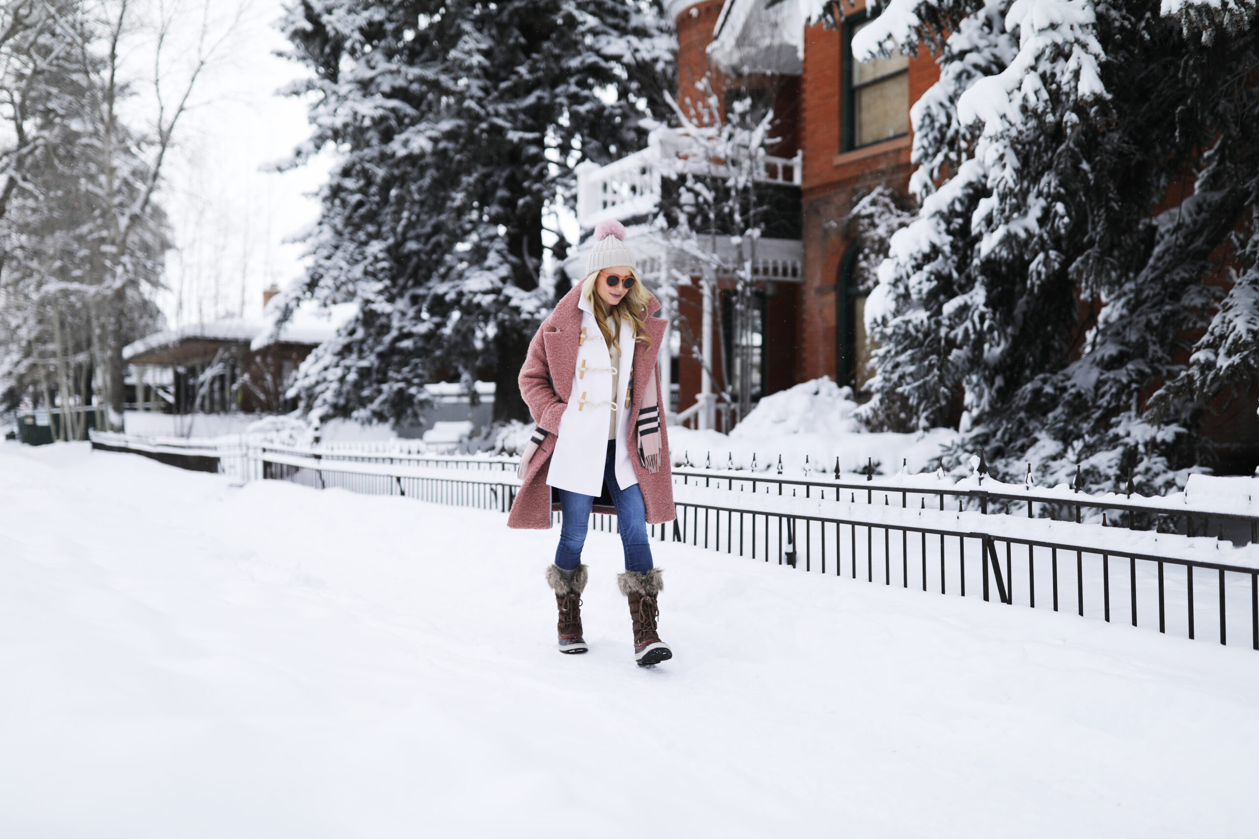 Atlantic Pacific Blog Snow Outfit