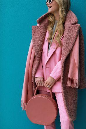 details pink suit