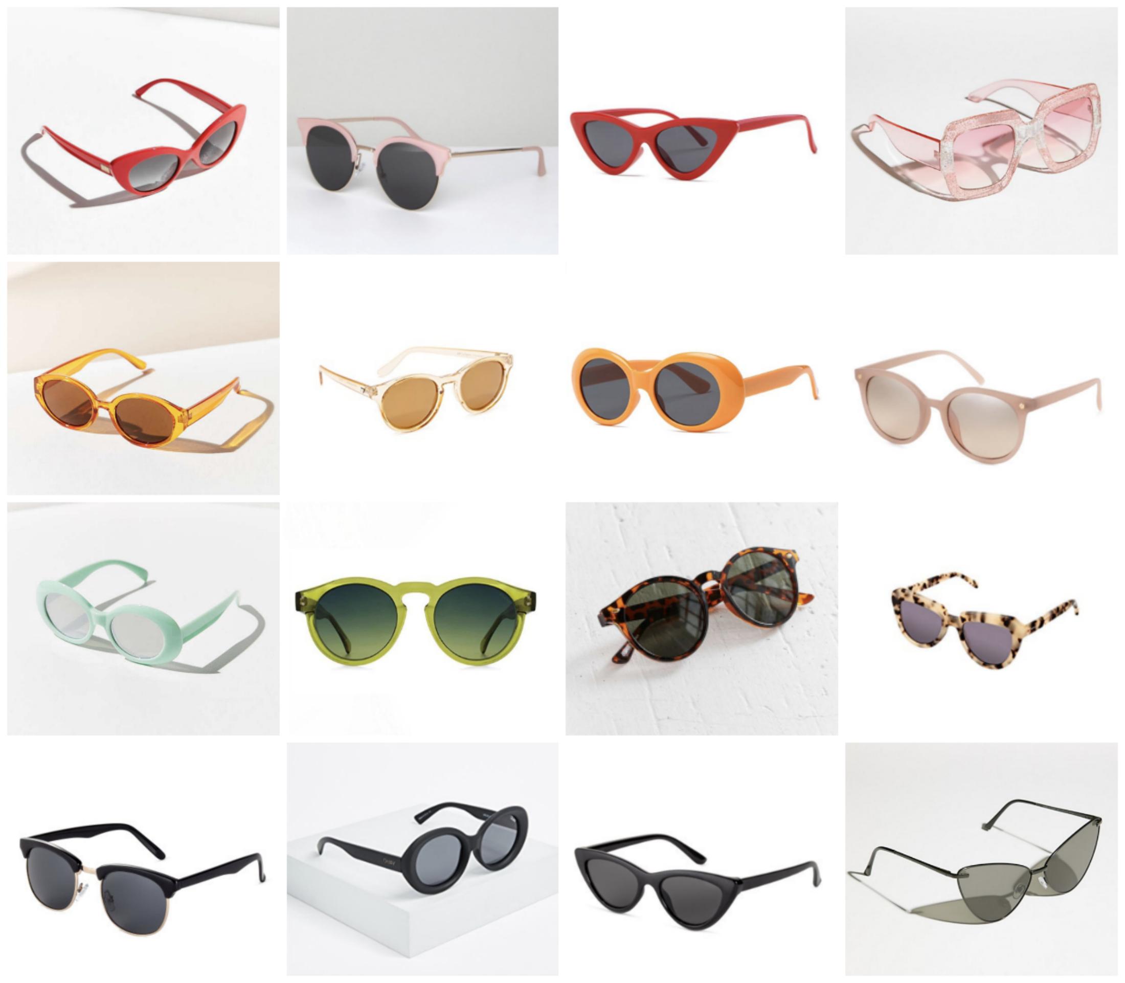 best sunglasses under 100 Blair Eadie