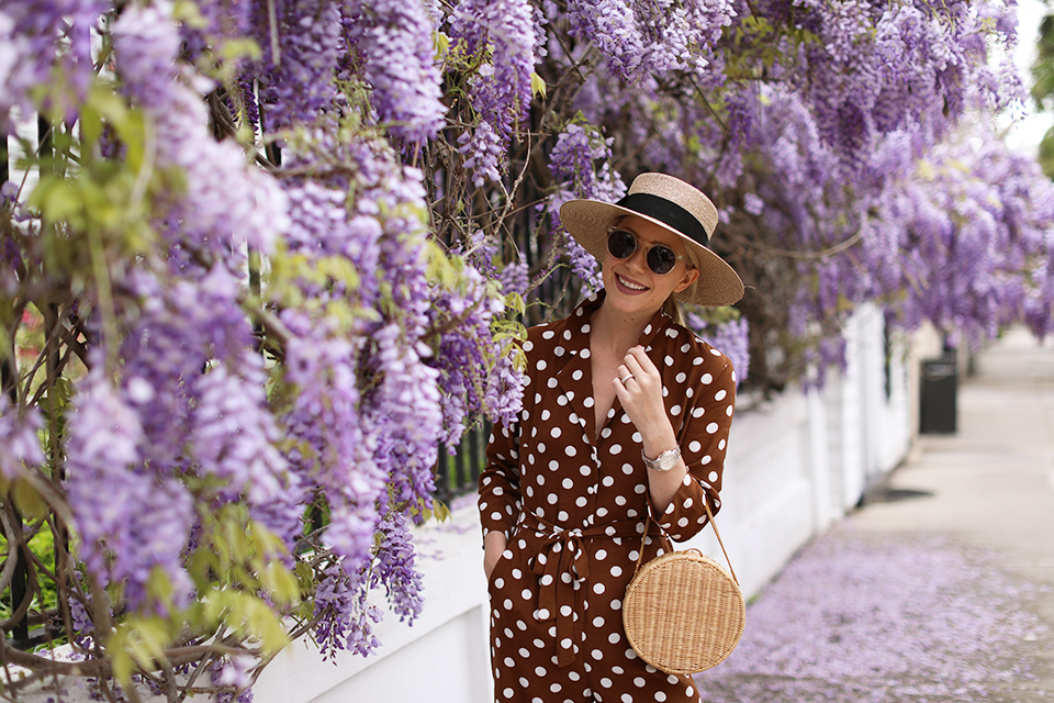 Atlantic Pacific Polka Dot Jumpsuit